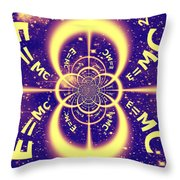 Einstein's Universe 3 Throw Pillow