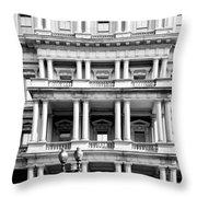 Eisenhower Executive Building Throw Pillow