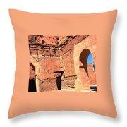 El Badi Palace 5 Throw Pillow