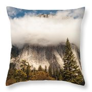 El Capitan Throw Pillow