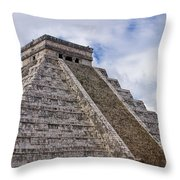 El Castillo Throw Pillow