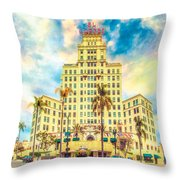 El Cortez Throw Pillow