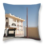 El Farafar Oasis Throw Pillow