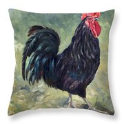 El Gallo - The Cockerel Throw Pillow