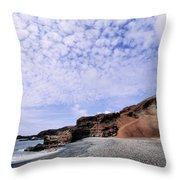 El Golfo On Lanzarote Throw Pillow