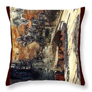 El Morro Arch With Border Throw Pillow