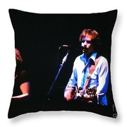 The Grateful Dead 1980 Capitol Theatre Throw Pillow