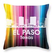 El Paso Tx 2 Throw Pillow