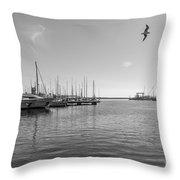El Puerto Throw Pillow