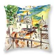 El Rocio 02 Throw Pillow