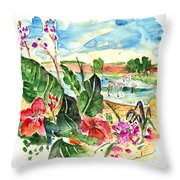 El Rocio 06 Throw Pillow