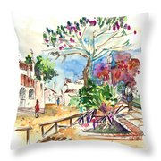 El Rocio 07 Throw Pillow