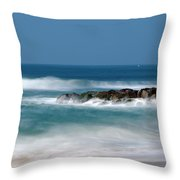 El Segundo Beach Jetty Throw Pillow