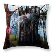 El Torreon  Throw Pillow