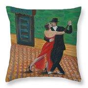 El Ultimo Tango Throw Pillow