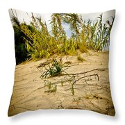 Elafonisi Grass Throw Pillow