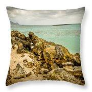 Elafonisi Island Throw Pillow