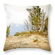 Elafonisi Nature Throw Pillow