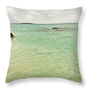 Elafonisi Sea View Throw Pillow