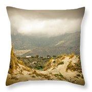 Elafonisi View Throw Pillow