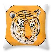 Elainas Tiger Throw Pillow