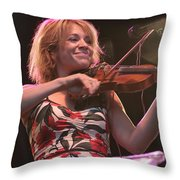 Elana James And The Continental Two Throw Pillow