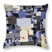 Elastic Dialog Throw Pillow