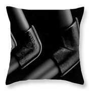 Elbows Throw Pillow