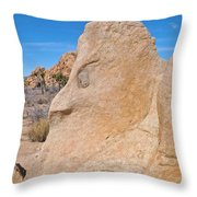 Elder Boulder Throw Pillow