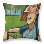 Eleanor Rigby - The Pleasant Years Throw Pillow