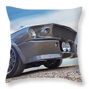 Eleanor's Day Out Throw Pillow