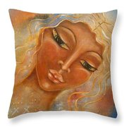Electra Throw Pillow