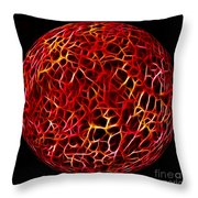 Electric Ball Throw Pillow