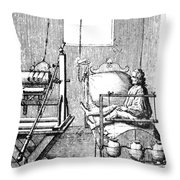 Electric Cure Throw Pillow