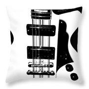 Electric Deco  Throw Pillow