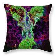 Electric Glowing Personality Throw Pillow