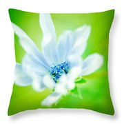 Electric Lady Throw Pillow