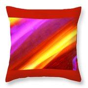 Electric Light Song Throw Pillow