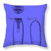 Electric Razor Patent 1939 Throw Pillow