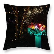 Electric Still Life Throw Pillow