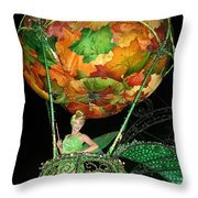 Electric Tink Throw Pillow