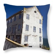 Electrical Repair Shop Alcatraz Island Throw Pillow