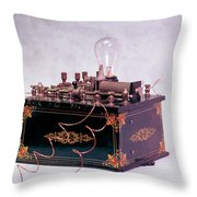 Electroconvulsive Therapy Throw Pillow