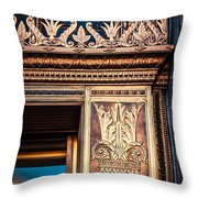 Elegant And Old Throw Pillow