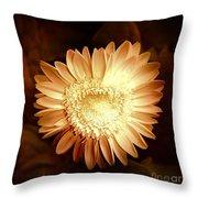 Elegant Flower Throw Pillow