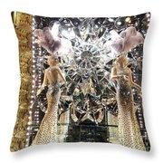 Elegant Ladies Throw Pillow