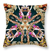 Elegant Manifest Throw Pillow