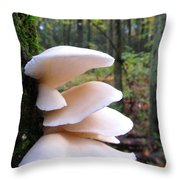 Elegant Oysters Throw Pillow