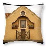 Elegant Prague Throw Pillow