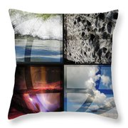 Elemental Forces Throw Pillow